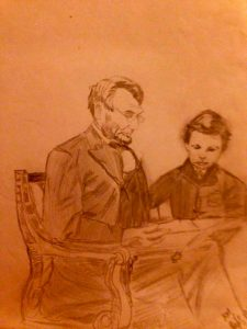 Abraham Lincoln and Todd Lincoln -1988